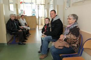 Poczekalnia Centrum Kardiologicznego ETER-MED w Gdańsku