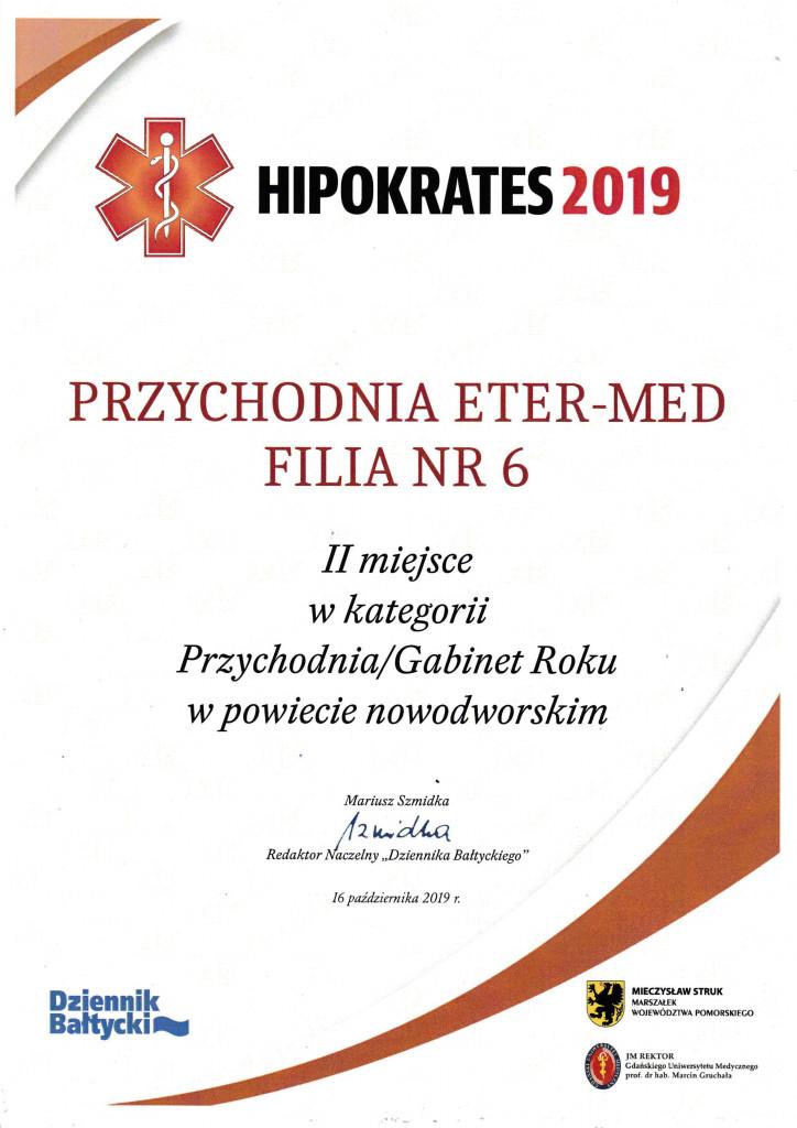gdańsk, hipokrates 2019, plebiscyt, gdańsk, przychodnia etermed