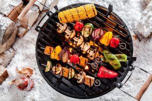 Wybieraj na grilla chude mięso i warzywa