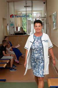 pielęgniarka, jaskółcza, etermed, przychodnia, kardiologia, ekg