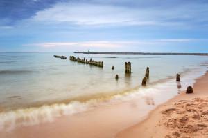 Sobieszewo, plaża i najlepsza przychodnia ETER-MED - dla Pacjenta