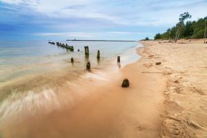 Wyspa Sobieszewska słynie z bursztynów